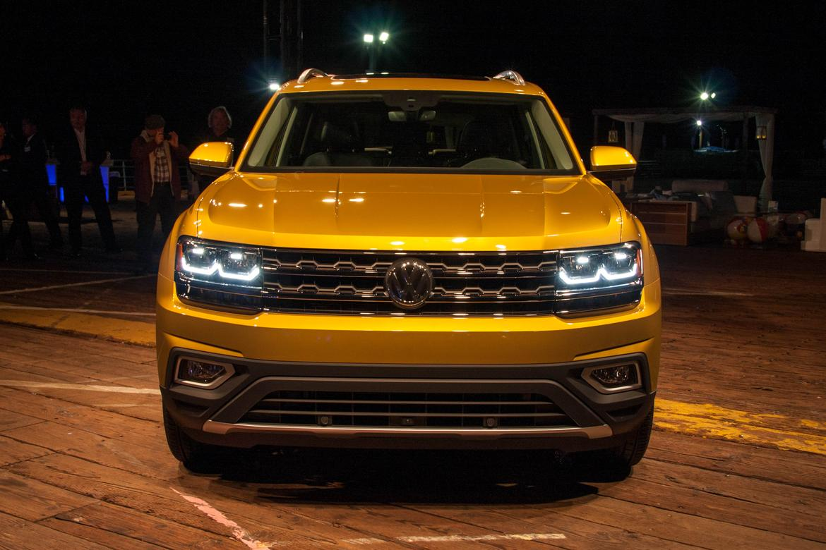 Wonderful 2018 Volkswagen Atlas Review First Impressions  News