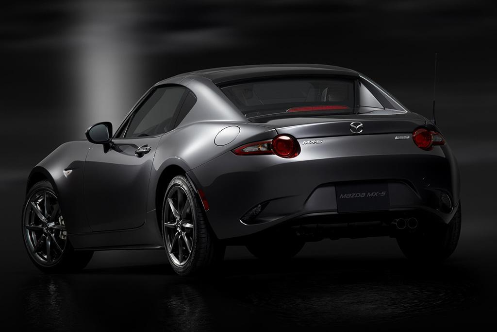 mazda unveils 2017 mx 5 miata rf retractable hardtop. Black Bedroom Furniture Sets. Home Design Ideas
