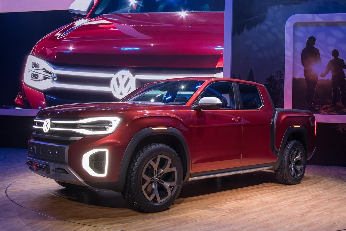 Volkswagen Atlas Tanoak Photo Gallery A Vw Pickup For The Rest Of
