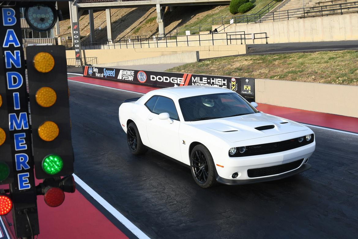 Dodge Challenger R T Scat Pack 1320 Like A Demon Only Slower And