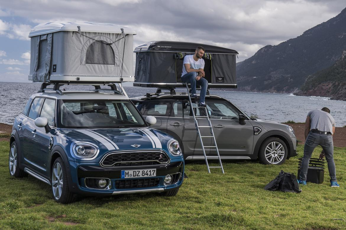 2017 Mini Countryman roof tent.jpg & 2017 Mini Countryman Offers Roof-Top Home Away From Home | News ...
