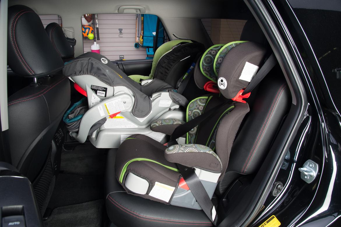 which cars fit three car seats. Black Bedroom Furniture Sets. Home Design Ideas