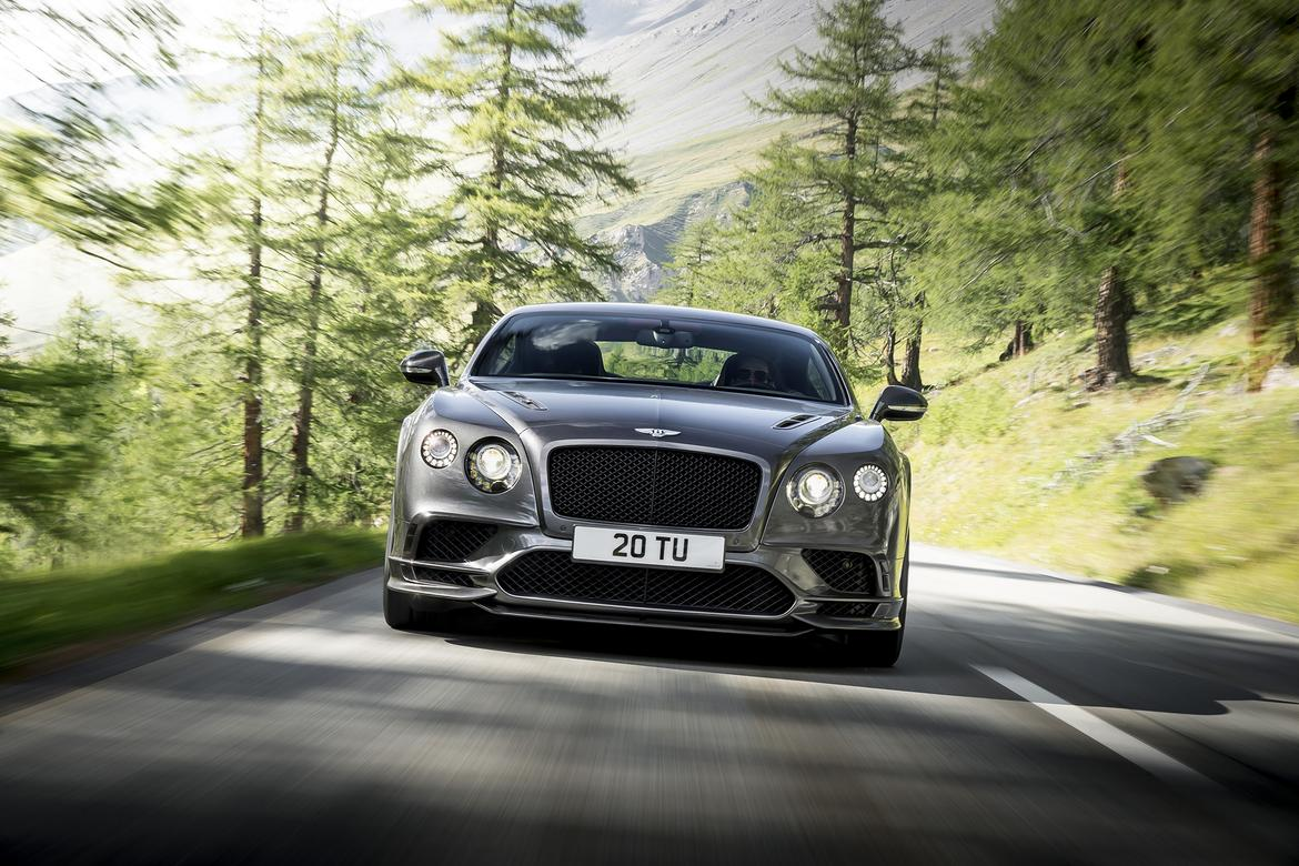2017 Bentley Continental Supersports Preview News Cars Com