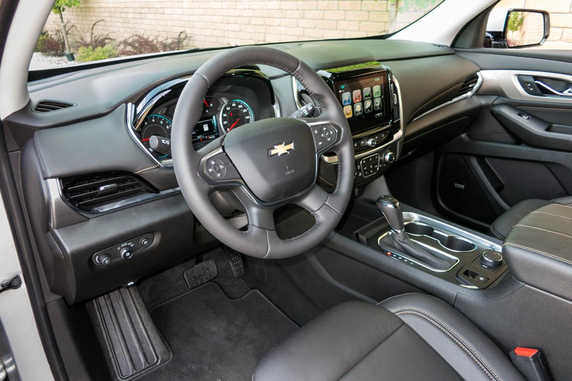 2018 chevrolet traverse review first drive news. Black Bedroom Furniture Sets. Home Design Ideas