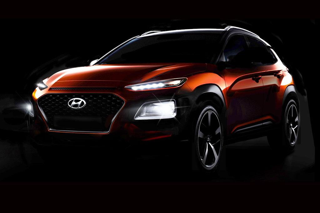 Hyundai Reveals More Of New Kona Suv News Cars Com