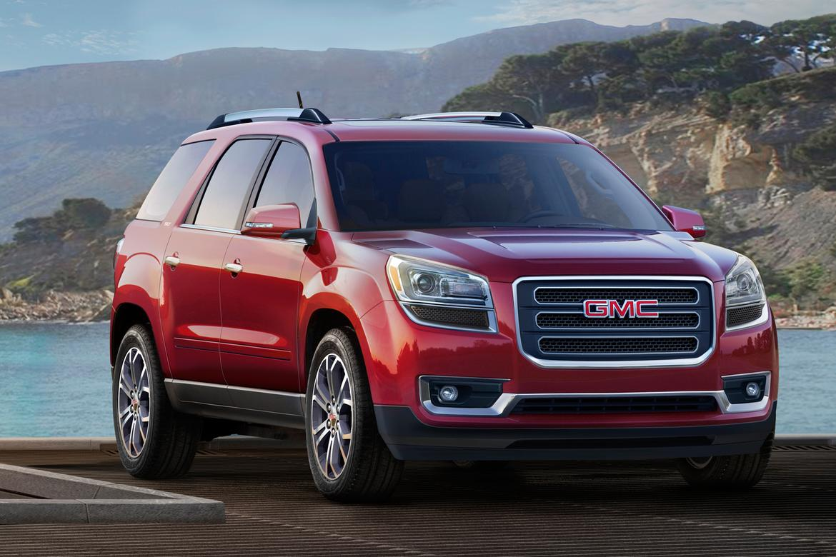 What's Changed on the 2016 GMC Acadia | News | Cars.com