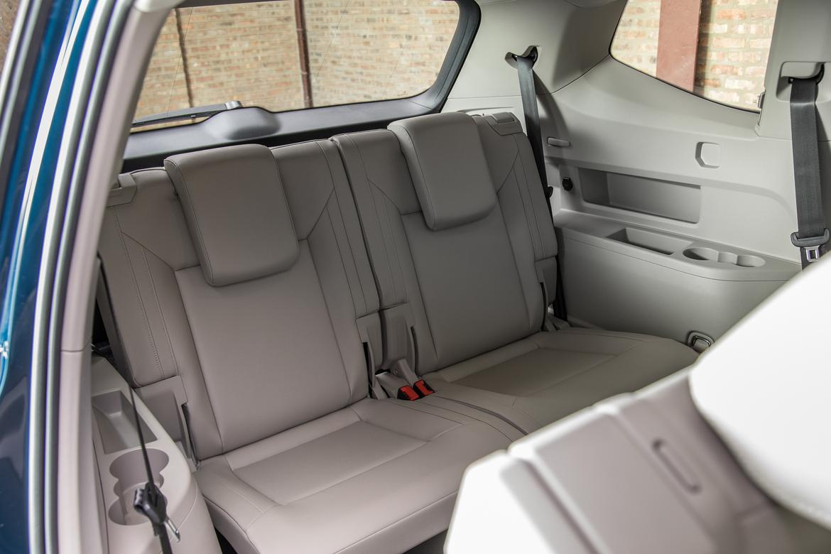 10 Volkswagen Atlas 2018 Interior Third Row