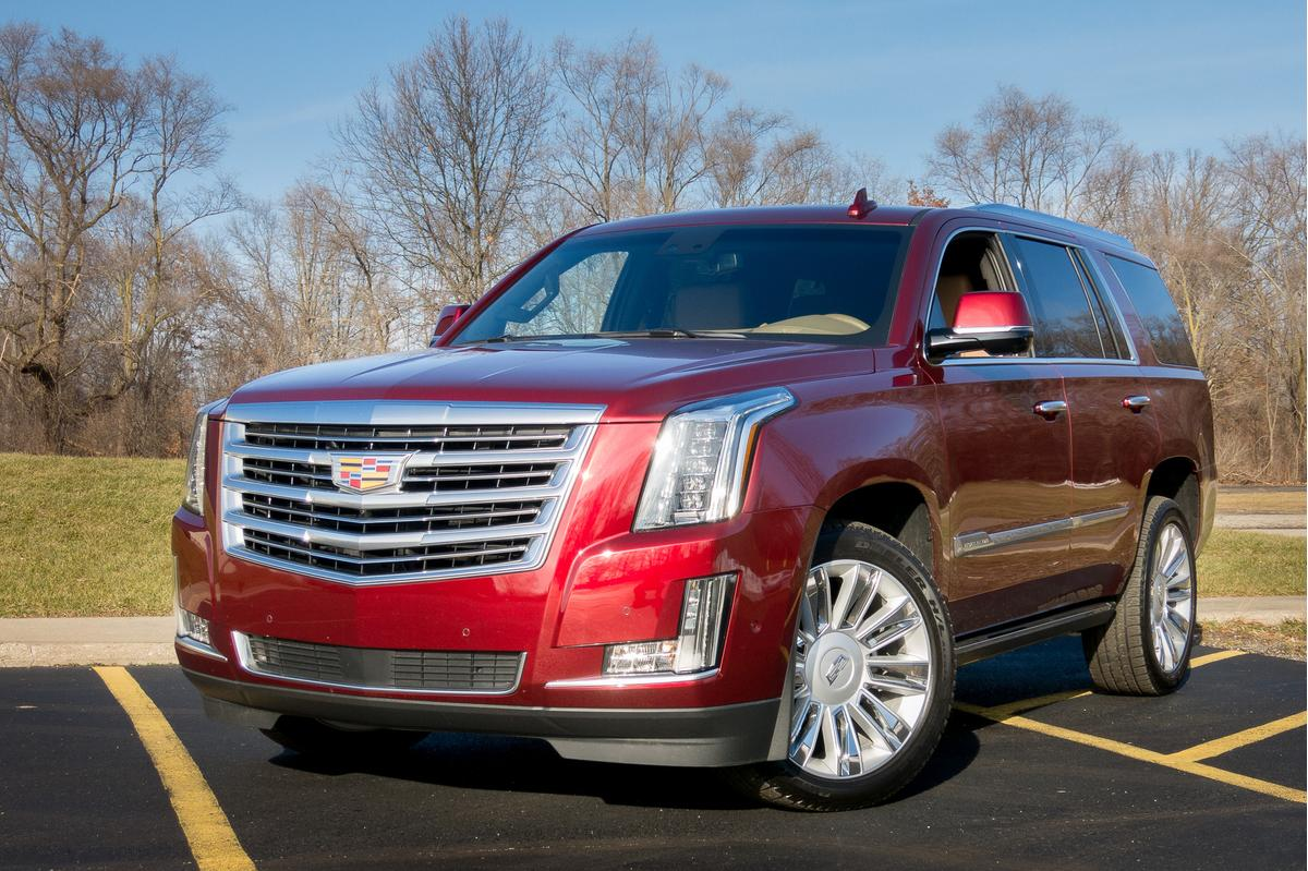 2017 Cadillac Escalade: Our View