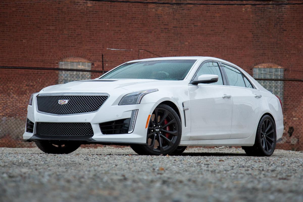 2017 Cadillac CTS-V: Our View