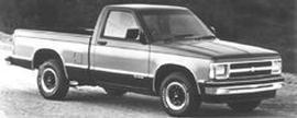 Used 1991 Chevrolet S-10 EXT. CAB