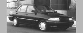 Used 1991 Mercury Tracer LTS