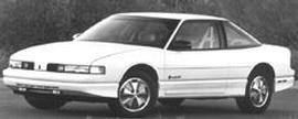 1991 Oldsmobile Cutlass Supreme Base