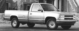 Used 1993 Chevrolet 2500 EXT CAB 2WD 157.5