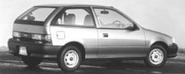 1993 Geo Metro LSi