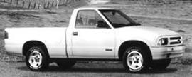 Used 1995 Chevrolet S-10