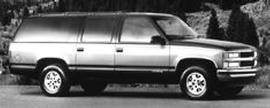 Used 1995 Chevrolet Suburban 1500