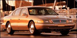 Used 1997 Lincoln Continental