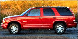 Used 1998 Oldsmobile Bravada Base