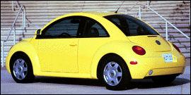 Used 1998 Volkswagen New Beetle Base