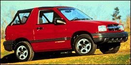 Used 1999 Chevrolet Tracker 4 Door SUV