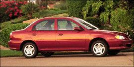 Used 1999 Kia Sephia