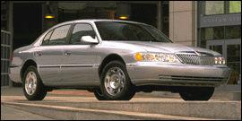 Used 1999 Lincoln Continental