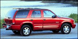 Used 1999 Oldsmobile Bravada Base