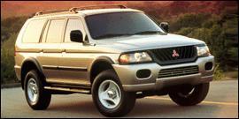 Used 2000 Mitsubishi Montero Sport LS