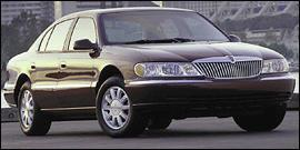 Used 2000 Lincoln Continental