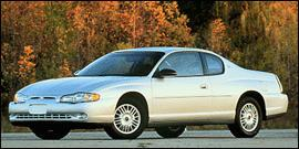 Used 2000 Chevrolet Monte Carlo LS