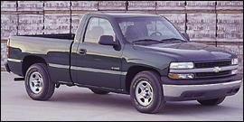 Used 2000 Chevrolet Silverado 1500 LS Extended Cab