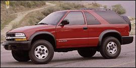 Used 2000 Chevrolet Blazer LS