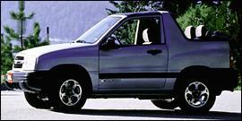 Used 2000 Chevrolet Tracker 4DR 4WD HARDTOP