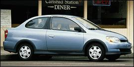 Used 2000 Toyota ECHO 4DR SDN AT