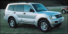 Used 2001 Mitsubishi Montero XLS