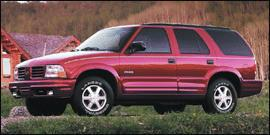Used 2001 Oldsmobile Bravada Base