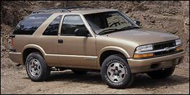 Used 2001 Chevrolet Blazer