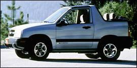 Used 2001 Chevrolet Tracker