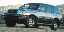 Used 2001 Lexus LX 470