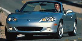 Used 2001 Mazda MX-5 Miata SE