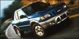 Used 2001 Isuzu Rodeo Sport