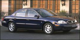 2001 Mercury Sable LS