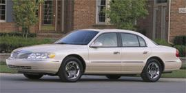 Used 2002 Lincoln Continental