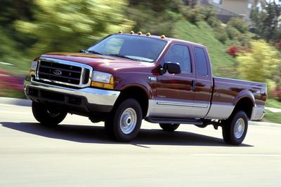 Used 2000 Ford F350 Lariat Crew Cab Super Duty