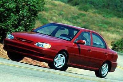 2000 Kia Sephia LS