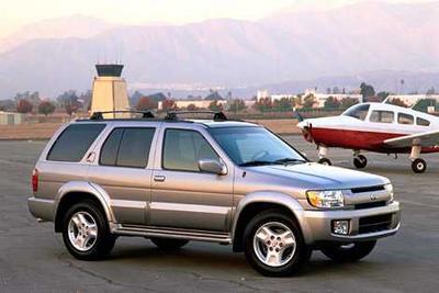 Used 2001 INFINITI QX4 4WD