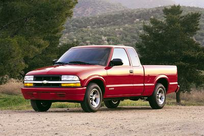 Used 2001 Chevrolet S-10 123I WB 4