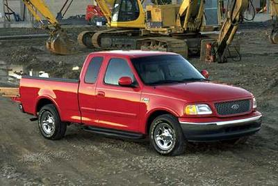 Used 2001 Ford F-150 Lariat SuperCrew