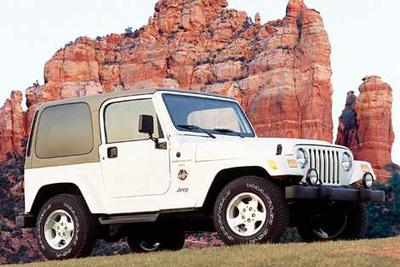 Used 2001 Jeep Wrangler Sport
