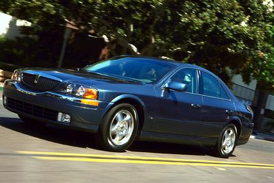 Used 2001 Lincoln LS V8
